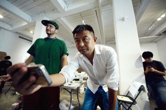 Dos célebres artistas chinos exponen en el MACBA