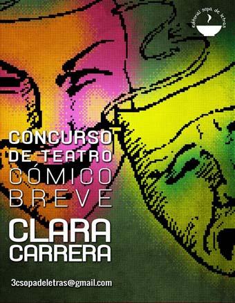 """Concurso Internacional de Teatro Cómico breve """"Clara Carrera"""""""