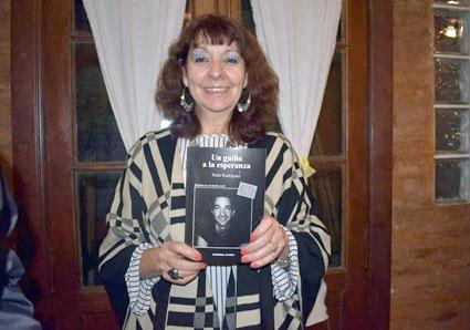 Perla Rodríguez presenta «Un guiño a la esperanza» el 1º de julio