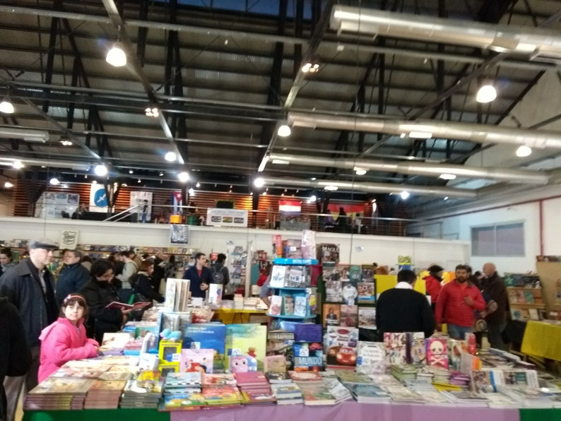 La Feria Internacional del Libro de Comodoro Rivadavia